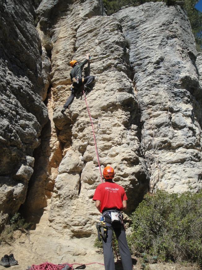 Escalada en Moià - Montbrú