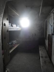 la habitación del refugio Tucarroya.