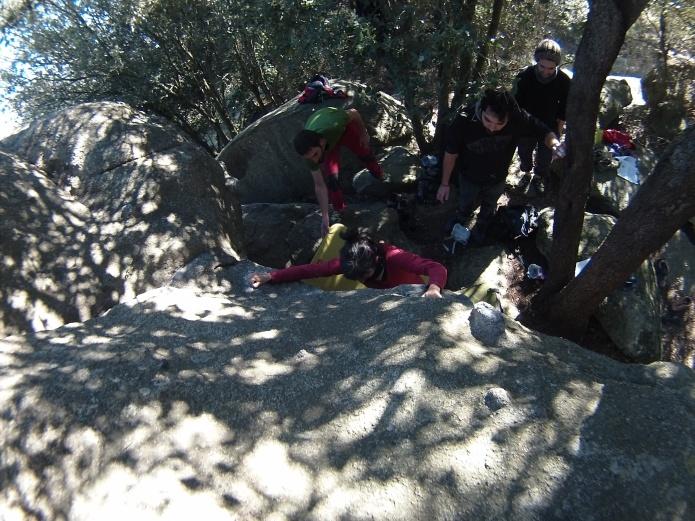 Susana juntando Action Direct y Sam y Rosita