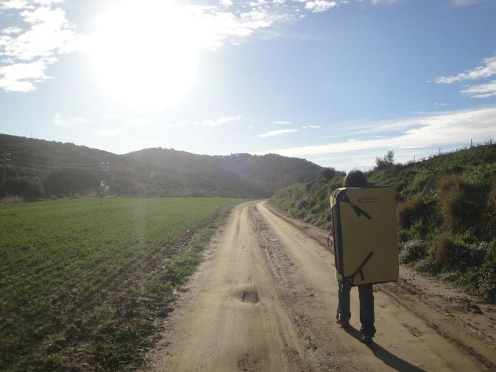 de camino de vuelta a la Creu... :-)